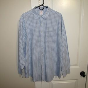 Brooks Brothers Men's Dress Shirt- 17-1/2, EUC!!!
